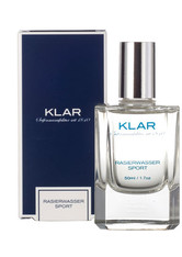 KLAR SEIFEN - Klar's Rasierwasser Sport 50 ml - Aftershave