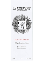 LE COUVENT MAISON DE PARFUM LE COUVENT DES MINIMESBOTANIQUE COLOGNE AQUA PARADISI EAU DE TOILETTE NAT. SPRAY 200 ml