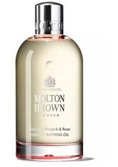 Molton Brown Body Essentials Delicious Rhubarb & Rose Vibrant Bathing Oil Badeöl 200.0 ml