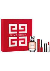 GIVENCHY - Givenchy Produkte Volume Disturbia Mini Mascara 4 g + Eau de Parfum Spray 50 ml + Le Rouge Matt 1,5 g 1 Stk. Duftset 1.0 st - MASCARA