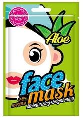 BLINGPOP COSMETICS - BLINGPOP Cosmetics Face Masks Aloe Moisturizing & Brightening Mask 20 ml - TUCHMASKEN