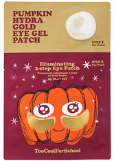TOO COOL FOR SCHOOL Masken PUMPKIN HYDRA GOLD EYE GEL PATCH 5 g