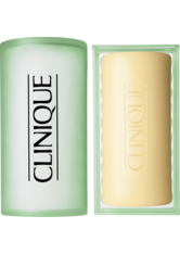 CLINIQUE - Clinique 3-Phasen Systempflege 3-Phasen-Systempflege Facial Soap Extra Mild Skin mit Schale 100 g - CLEANSING