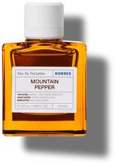KORRES Düfte Mountain Pepper Eau de Toilette Nat. Spray 50 ml