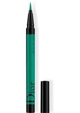 DIOR - DIOR SHOW ON STAGE LINER WASSERFESTER FLÜSSIGER EYELINER MIT 24H HALT* INTENSIVE FARBEN UND EFFEKTE 0.55 ml Matte Pop Green - Eyeliner