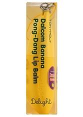 TONYMOLY - TonyMoly Delight Banana Pong Dang Lip Balm 7 g - LIPPENBALSAM