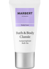Marbert B&B Classic Antiperspirant Roll-On 50 ml Deodorant Roll-On