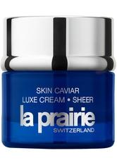 La Prairie Feuchtigkeitspflege Skin Caviar Luxe Cream Sheer Gesichtscreme 50.0 ml