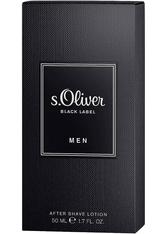 s.Oliver Herrendüfte Black Label Men After Shave Lotion 50 ml