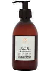 100BON Bath & Body Collection Fleur d'Oranger & Lilas délicieux Liquid Soap 300 ml