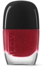 L.O.V Nägel LOVINITY luxurious nail lacquer 11 ml Red Allegiance