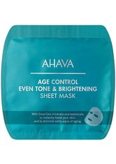 Ahava Gesichtspflege Time To Smooth Age Control Even Tone & Brightening Sheet Mask 1 Stk.