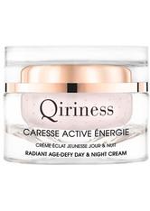 QIRINESS - QIRINESS Gesichtspflege Caresse Active Énergie Radiant Age-Defy - Tages- und Nachtpflege 50 ml - Tagespflege