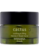 WHAMISA Fresh Cactus Prickly Pear Pack Gesichtsmaske 30 g