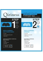 QIRINESS Wrap Duo Purifiant Nez Purifying 2-Step Nose Patches Mitesser Strips  1 Stk