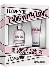 Aktion - Zadig & Voltaire Girls Can Do Anything Geschenkset (EdP30/BL75) Duftset