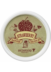 SKINFOOD Black Sugar Strawberry Mask Wash Off Gesichtsmaske  100 g