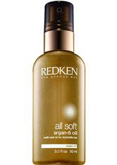 Redken - All Soft Argan-6 - Haaröl - -all Soft Argan Oil 90ml