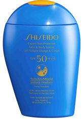 Shiseido Global Sun Care Expert Sun Protector Face & Body SPF 50 Sonnenlotion  150 ml