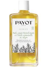 PAYOT Herbier Huile corps Revitalisante à l'huile essentielle de thym Körperöl 95 ml
