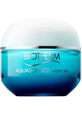 Biotherm Aquasource Night Spa Gesichtsgel 50.0 ml