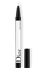 Dior - Diorshow On Stage Liner – Filz-eyeliner – Augenpinsel Für Intensive Farben - 001 Matte White