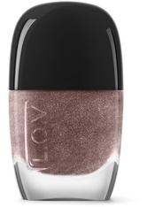 L.O.V Nägel LOVINITY luxurious nail lacquer 11 ml Roségold Purity