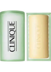 CLINIQUE - Clinique 3-Phasen Systempflege 3-Phasen-Systempflege Facial Soap Oily Skin mit Schale 100 g - CLEANSING