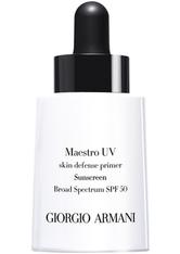 GIORGIO ARMANI - Giorgio Armani Maestro UV Sunscreen SPF 50 Primer  30 ml Transparent - Primer