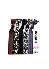The Popband Printed - animal Haargummi 5 stk Haarband