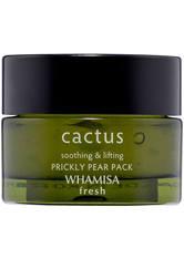 WHAMISA Fresh Cactus Prickly Pear Pack Gesichtsmaske 100 g