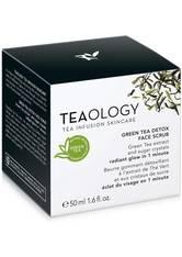 Teaology Reinigung Green Tea Detox Face Scrub Gesichtspeeling 50.0 ml
