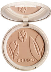 ARTDECO Natural Finish Compact Foundation Green Couture Kompaktpuder 7.5 ml warm honey