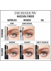 Christian Dior DIORSHOW PUMP 'N' VOLUME HD SQUEEZABLE MASCARA - SOFORTIGES XXL-VOLUMEN - VOLLE WIMPERN EFFEKT 6 ml