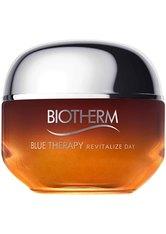 Biotherm Blue Therapy - Regeneriert Zeichen der Hautalterung Amber Algae Revitalize Day Cream Gesichtscreme 50.0 ml