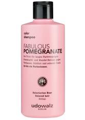 Udo Walz Haarpflege Pure Matcha Fabulous Pomegranate Color Shampoo 300 ml