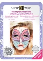 CHIARA AMBRA Tierdesign-Masken Feuchtigkeits-Vliesmaske Schmetterling 1 Stck.