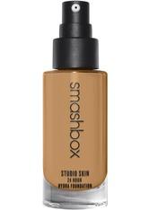 Smashbox Studio Skin 24 Hour Wear Hydra Flüssige Foundation  30 ml Nr. 3.18 - Medium-dark With Neutral Olive Undertone
