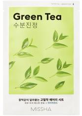 MISSHA - Gesichtsmaske - Airy Fit Sheet Mask - Green Tea