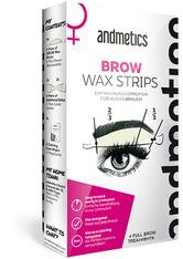 Andmetics Gesichtspflege Wachsstreifen Eye Brow Stripes Women 1 Stk.
