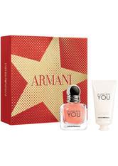Giorgio Armani In Love with YOU Eau de Parfum Geschenkset 2 Stück