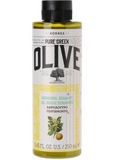 KORRES - KORRES Olive & Bergamotte Showergel - DUSCHEN & BADEN