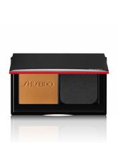 Shiseido Synchro Skin Self-Refreshing Custom Finish Powder Foundation 9 g 410 Sunstone Kompakt Foundation