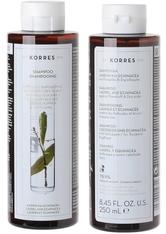 KORRES Shampoos Laurel & Echinacea - Anti-Schuppen 250 ml Haarshampoo 250.0 ml