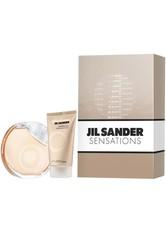 Jil Sander Sensations Eau de Toilette Spray 40 ml + Cashmere Cream 50 ml 1 ml Duftset 1.0 ml