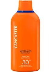 LANCASTER - Lancaster Sonnenpflege Sun Care Sun Beauty Velvet Tanning Milk SPF 30 400 ml - SONNENCREME