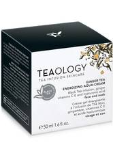 Teaology Gesichtspflege Ginger Tea Energizing Aqua-Cream Gesichtscreme 50.0 ml