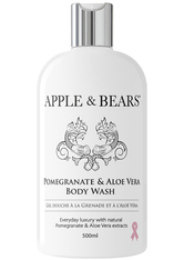APPLE & BEARS - APPLE & BEARS Pomegranate & Aloe Vera Body Wash 500 ml - Duschen & Baden