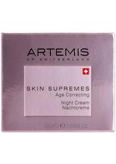 ARTEMIS - Artemis Pflege Skin Supremes Age Correcting Night Cream 50 ml - Nachtpflege