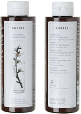 KORRES Shampoos Almond & Linseed - für trockenes und strapaziertes Haar 250 ml Haarshampoo 250.0 ml